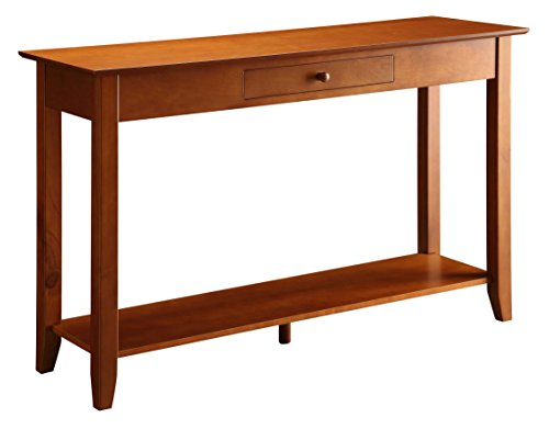 oak console tables for entryway - 5