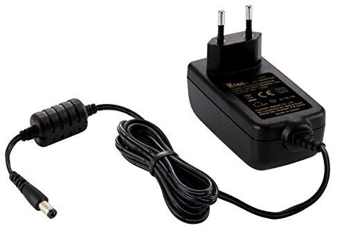 Ktec Universal AC DC Netzteil 12V 3A (3000mA Steckernetzteil) Adapter - Stromadapter und Stromkabel für Externe Festplatten-Gehäuse, Dockingstation UVM, 183cm