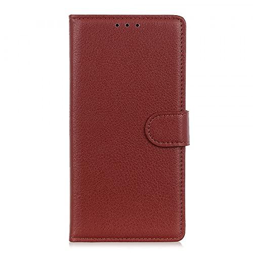 Cover-Discount Xiaomi Mi 9T Pro - Funda de Piel con Tarjetero marrón