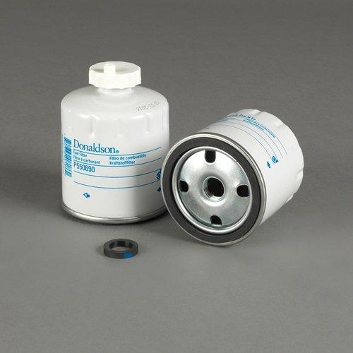 Donaldson P550690 Kohlefilter Wassertrenner Spin-On, Durchmesser 77 mm, Länge 111.8 mm