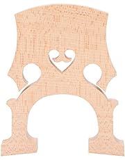 Alomejor Cello Bridge Maple Wood Standard Maple Cello Bridge Cello Pieza de Repuesto para Cuerdas de Cello 4/4 Piezas Musicales