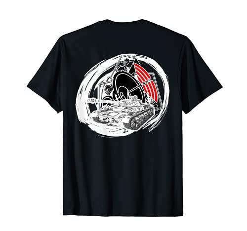 Free Tekno Bass Lautsprecher 23 Panzer Soundsystem T-Shirt