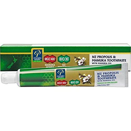 Manuka Health Propolis & MGO 400 + Manuka Zahnpasta mit Öl 100g