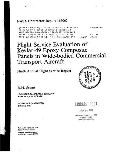 Flight service evaluation of Kevlar-49 epoxy composite panels in wide-bodies commercial transport aircraft (English Edition)