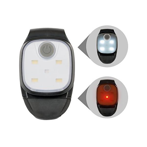 Linterna Frontal LED Lámpara de Cabeza, Luz Impermeable para Camping, Bicicleta, Trail Running, Marcha, Escolares 2… 2