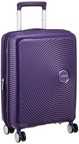 [アメリカンツーリスター] スーツケース キャリーケース サウンドボックス スピナー 55/20 TSA EXP 機内持ち込み可 保証付 35L 55 cm 2.6kg パープル