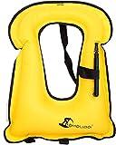 Best Adult Snorkeling Vests - OMOUBOI Swim Vests for Adults Inflatable Life Vest Review