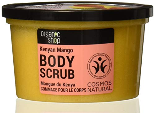 Organic Shop Body Scrub – Organic Mango & Sugar