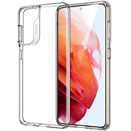 ESR Cover Trasparente Compatibile con Samsung Galaxy S21 5G 2021, Custodia Sottile, Morbida, in Polimero Trasparente Flessibile, Serie Project Zero, Trasparente