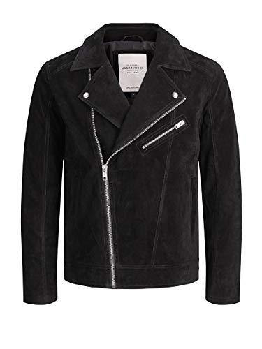 Jack & Jones NOS Herren Jacke JORDANE Biker Jacket NOOS, Schwarz (Black), Medium(Herstellergröße:M)