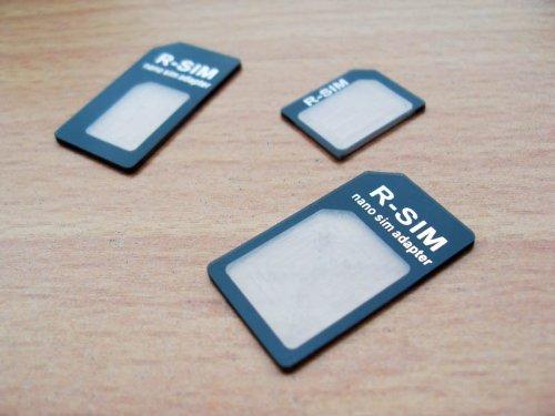 3 adaptadores para tarjetas SIM, microSIM y nanoSIM, 4 en 1 (incluye...