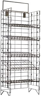Commercial Grade Metal Convenience Store Chip / Bagged Merchandise Rack, Silver