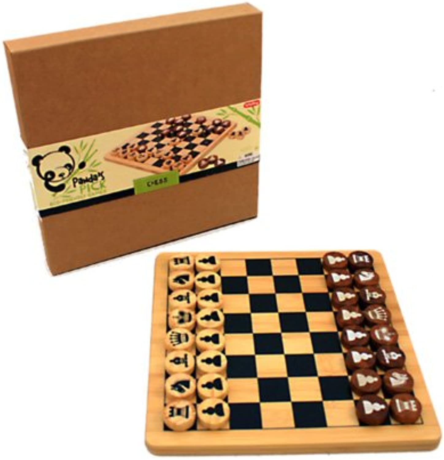 Schylling Panda's Pick Chess, Game