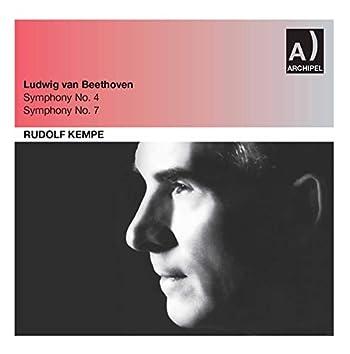 Beethoven: Symphonies Nos. 4 & 7 (Live)