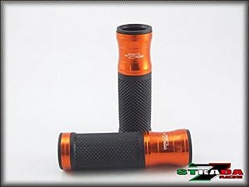 Honda CBR1000RR FIREBLADE SP VF750S SABRE Strada 7 Racing CNC Hand Grips Orange