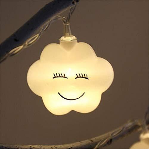 Wolken-Lichterketten, Lichterketten Für Hochzeit/Weihnachten/Party/Hof/Rasen/Kinderzimmer/Innen- / Außendekoration