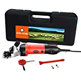 GDJOB Electric Wool Shears,500w Professional Sheep Shearing Clippers, Pet Farm Supplies for Shaving Fur Wool in Sheep, Goats, Cattle, Farm Livestock Pet