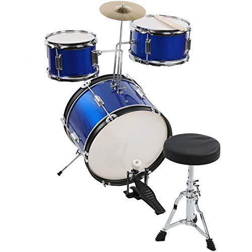Zwinner Schlagzeug, verstellbares Junior-Schlagzeug, Kindertrommel für die Heimschule