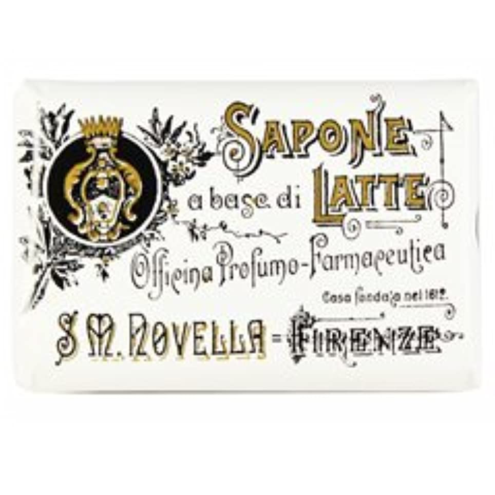 むしゃむしゃ横に収束する【Santa Maria Novella(サンタマリアノヴェッラ )】ミルクソープ ガーデニア 100g Milk Soap