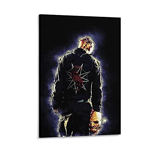 toumao Affiche décorative sur toile représentant les Masks de Corey Taylor - 60 x 90 cm