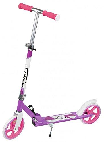 Hornet 14938 - Scooter Roller 205, Tret-Roller - Big Wheel Scooter, lila