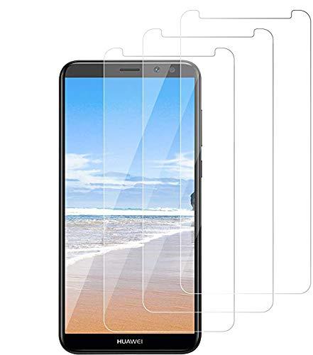 Wiestoung Panzerglas Schutzfolie für Huawei Mate 10 Lite,[3 Stück] 9H gehärtetes Glas mit Anti-Kratzer Bläschenfrei Ultra Transparent Full HD Panzerglasfolie Displayschutzfolie für Huawei Mate 10 Lite