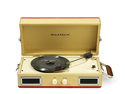 Ricatech - Tocadiscos portátil