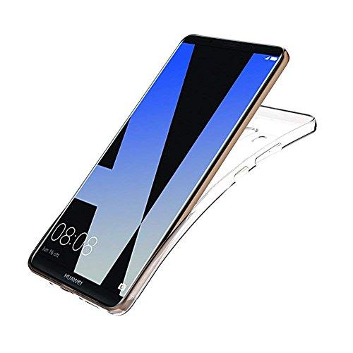TopACE Hülle für Huawei Mate 10 Pro, TPU Hülle Schutzhülle Crystal Case Durchsichtig Klar Silikon transparent für Huawei Mate 10 Pro (Transparent) - 4