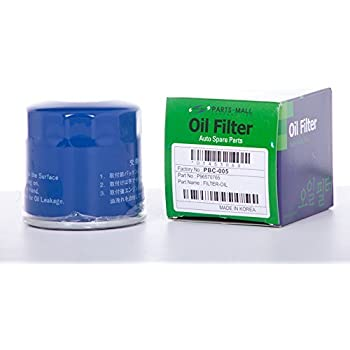 Amazon Com Oil Filter For Chevrolet Spark Daewoo Matiz 2006 2011 Part 96570765 25183779 96565412 Pack 4