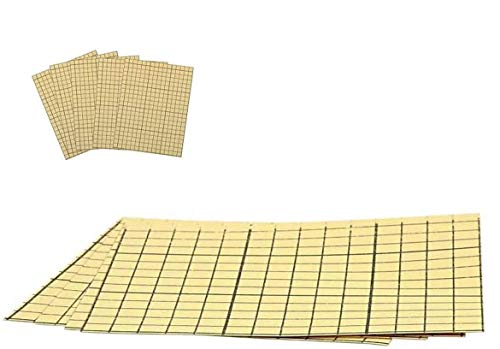 YooKreativ 5 Blatt Doppelseitige Klebefolie, Säurefrei, A4 21x30 cm, Beidseitig Stark Klebend