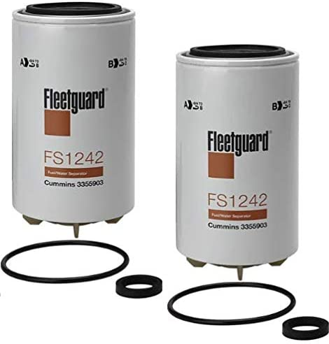 FS1242 Popular standard Fleetguard Fuel Water Sep Spin-On Pack of Now on sale 2
