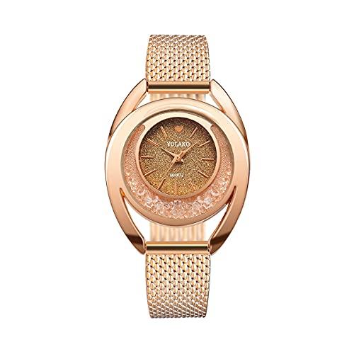 CXJC Un Reloj de Sexo con dial de corazón. Reloj de plástico de Moda (Color : E)