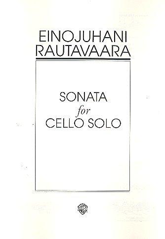 Sonate op.46 : für Violoncello