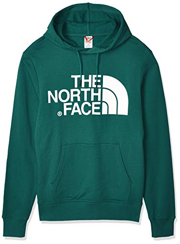 The North Face Standard Hoodie Sudadera con Capucha para Hombre, Color Night Green, M