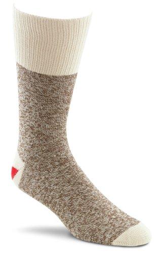 Red Heel Monkey Socken, groß, Braun meliert, 2 Paar