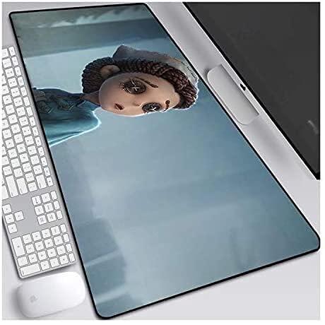 Juegos de ratón almohadilla de ratón grande alfombrilla de ratón quinta personalidad estera a prueba de agua alfombra de teclado para trabajos de oficina decoración para el hogar alfombrilla de ratón