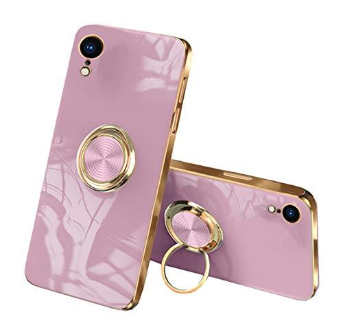 Funda compatible con Apple iPhone XR Funda Silicona, Funda iPhone XR Case capaz de aliviar la ansiedad y el estrés, Smartphone iPhone XR Cover Azul (Rosa, iPhone XR)