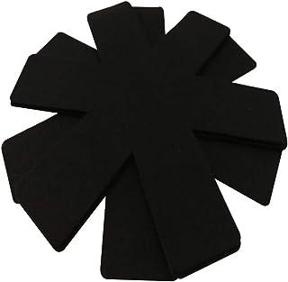 UPKOCH 3 Piezas Almohadillas Divisorias Protectores de Ollas Y Sartenes Aislamiento Térmico Negro Cocina Olla Titular Mantel Mantel Individual para Restaurante en Casa