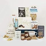 Cesta de comida navideña gourmet – Cestas de Navidad de lujo y canastos de regalo de comida – Ideas de regalo como cumpleaños y regalos de agradecimiento - 2