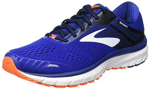 Brooks Defyance 11, Zapatillas para Correr para Hombre, Blue/Orange/White, 47.5 EU