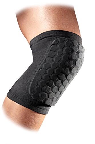 McDavid 6440 Hexpad Knee Or Elbow (Black, Large)