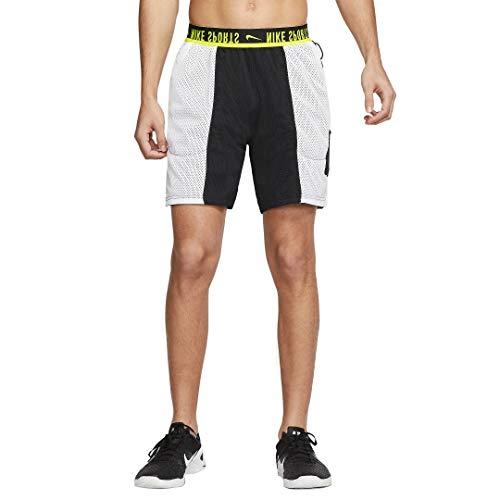 Nike Sport Clash - Pantalones cortos de entrenamiento reversibles para hombre - Negro - X-Large