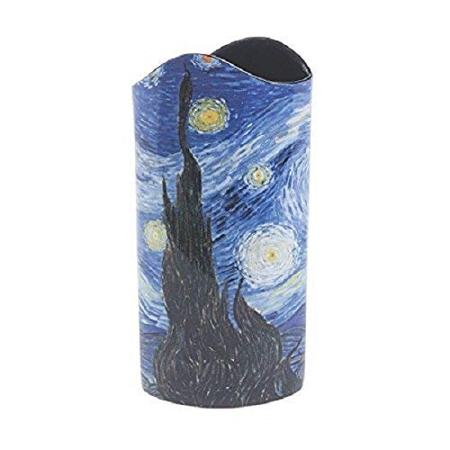 John Beswick Vase Iris de Van Gogh Multicolore 22 x 8 cm