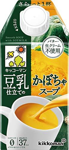 キッコーマン 豆乳仕立てのかぼちゃスープ500ml×12