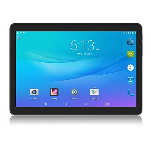 Tablet 10 inch Android Go 8.1 Tablet PC, 3G Phablet with Dual Sim Card Slots,Dual Camera,Google Certified, 1GB RAM, 16GB Storage, 1280X800 IPS Screen,WiFi, Bluetooth,GPS