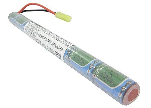 Batería Compatible con Airsoft Guns Mini Tamiya Ni-MH 8.4V 1500mAh - 2/3A