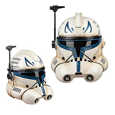 Captain Rex Mask Phase 2 ARC Clone Trooper Helmet SW Series Halloween Cosplay Costume Props from DressVoguer