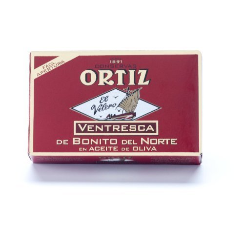 Ortiz Ventresca White Tuna Belly in Oil - 10 pack...