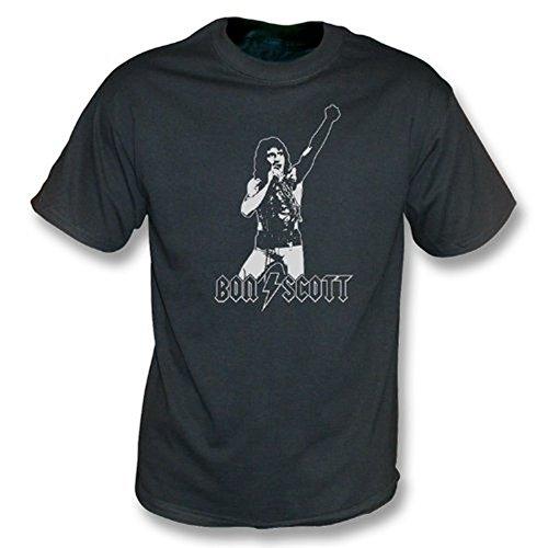 TshirtGrill Bon Scott - Tributweinlesewäsche T-Shirt Medium, Farbe- Schwarzes