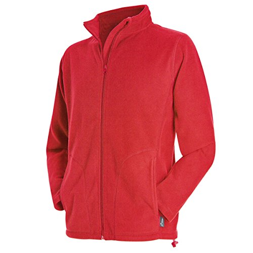Active by Stedman - Veste Polaire - Homme (2XL) (Rouge)
